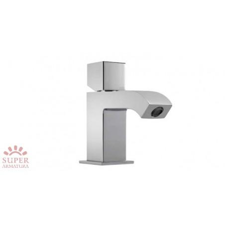 Bateria umywalkowa, stal, automatyczny korek, Cuadro Tres (50710303DA)